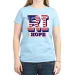 Rhode Island RI Hope Women's Light T-Shirt