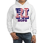 Rhode Island RI Hope Hooded Sweatshirt