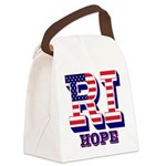 Rhode Island RI Hope Canvas Lunch Bag