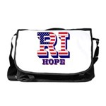 Rhode Island RI Hope Messenger Bag