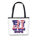 Rhode Island RI Hope Bucket Bag