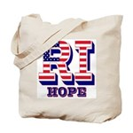Rhode Island RI Hope Tote Bag