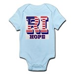 Rhode Island RI Hope Infant Bodysuit
