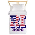 Rhode Island RI Hope Twin Duvet