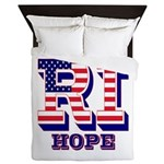 Rhode Island RI Hope Queen Duvet