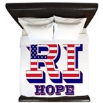 Rhode Island RI Hope King Duvet
