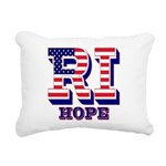 Rhode Island RI Hope Rectangular Canvas Pillow