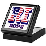 Rhode Island RI Hope Keepsake Box