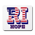 Rhode Island RI Hope Mousepad