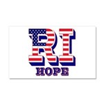 Rhode Island RI Hope Car Magnet 20 x 12