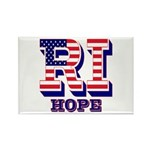 Rhode Island RI Hope Rectangle Magnet (10 pack)