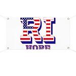 Rhode Island RI Hope Banner