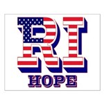 Rhode Island RI Hope Small Poster
