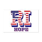 Rhode Island RI Hope Mini Poster Print