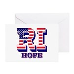 Rhode Island RI Hope Greeting Cards (Pk of 10)