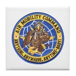 Air Mobility Command Tile Coaster
