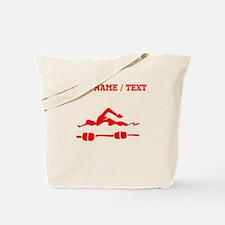 Red Swimmer (Custom) Tote Bag