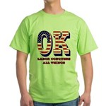 Oklahoma OK Labor Conquers All Thing Green T-Shirt