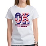 Oklahoma OK Labor Conquers All Thi Women's T-Shirt