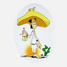 Mexican Hombre Ornament (Oval)