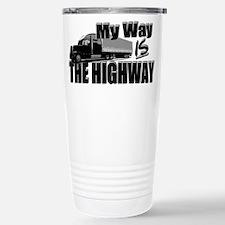 My Way is the Highway Travel Mug