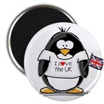 UK Penguin Magnet