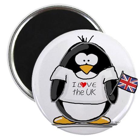 UK Penguin Magnet