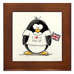 UK Penguin Framed Tile