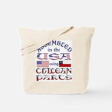 USA/Chilean Parts Tote Bag