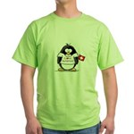 Switzerland Penguin Green T-Shirt