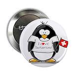Switzerland Penguin Button
