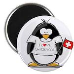 Switzerland Penguin Magnet