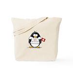 Switzerland Penguin Tote Bag