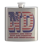 North Dakota ND Liberty And Union Now And Fo Flask