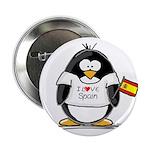 Spain Penguin Button