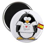 Spain Penguin Magnet