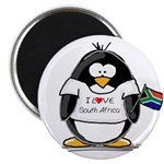 South Africa Penguin Magnet