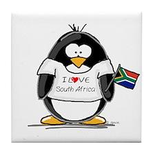 South Africa Penguin Tile Coaster