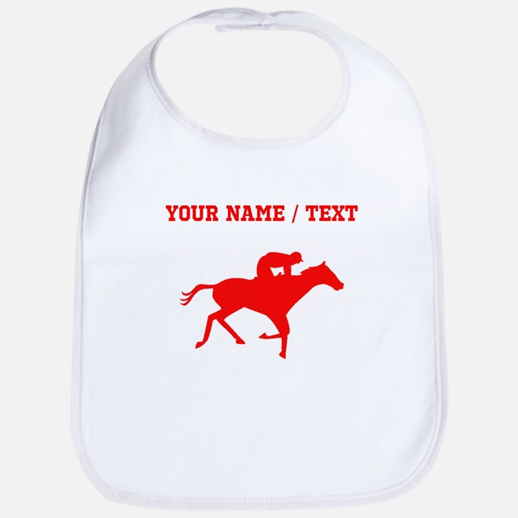 Red Horse Racing Silhouette (Custom) Bib