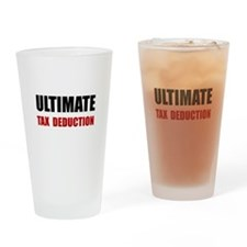 Ultimate Tax Deduction Drinking Glass