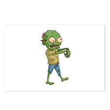 Zombie Cartoon Postcards (Package of 8)