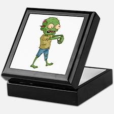 Zombie Cartoon Keepsake Box
