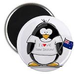 New Zealand Penguin Magnet