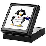 New Zealand Penguin Keepsake Box