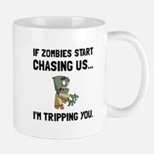Zombies Chase Us Tripping Mugs