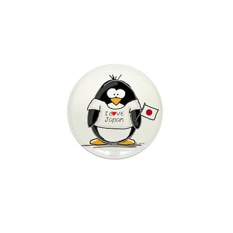 Japan Penguin Mini Button