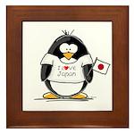 Japan Penguin Framed Tile