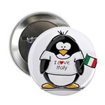 Italy Penguin Button