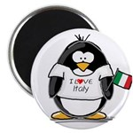 Italy Penguin Magnet