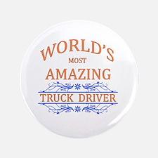 "Truck Driver 3.5"" Button"